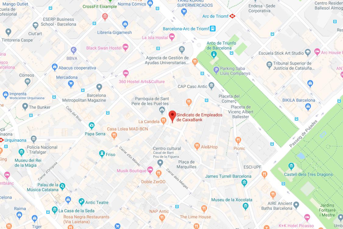 Mapa SECB